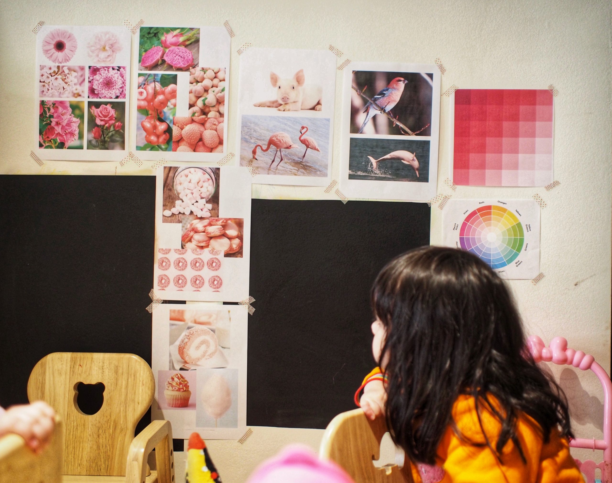 Exploring The Color Pink with Multicultural Kids