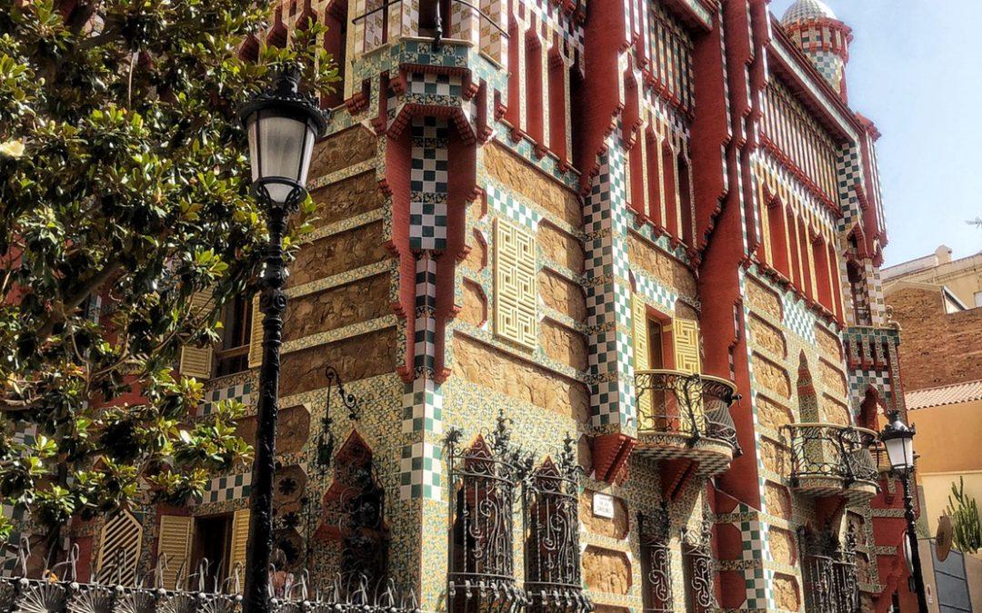Casa Vicens Gaudí in Barcelona| Travel Spain