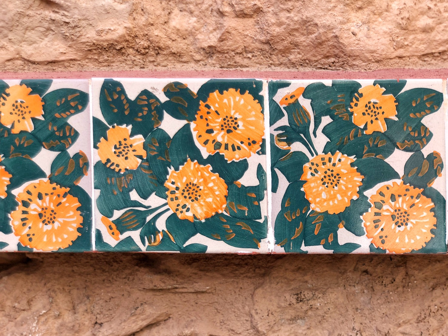 Casa Vicens flower tiles