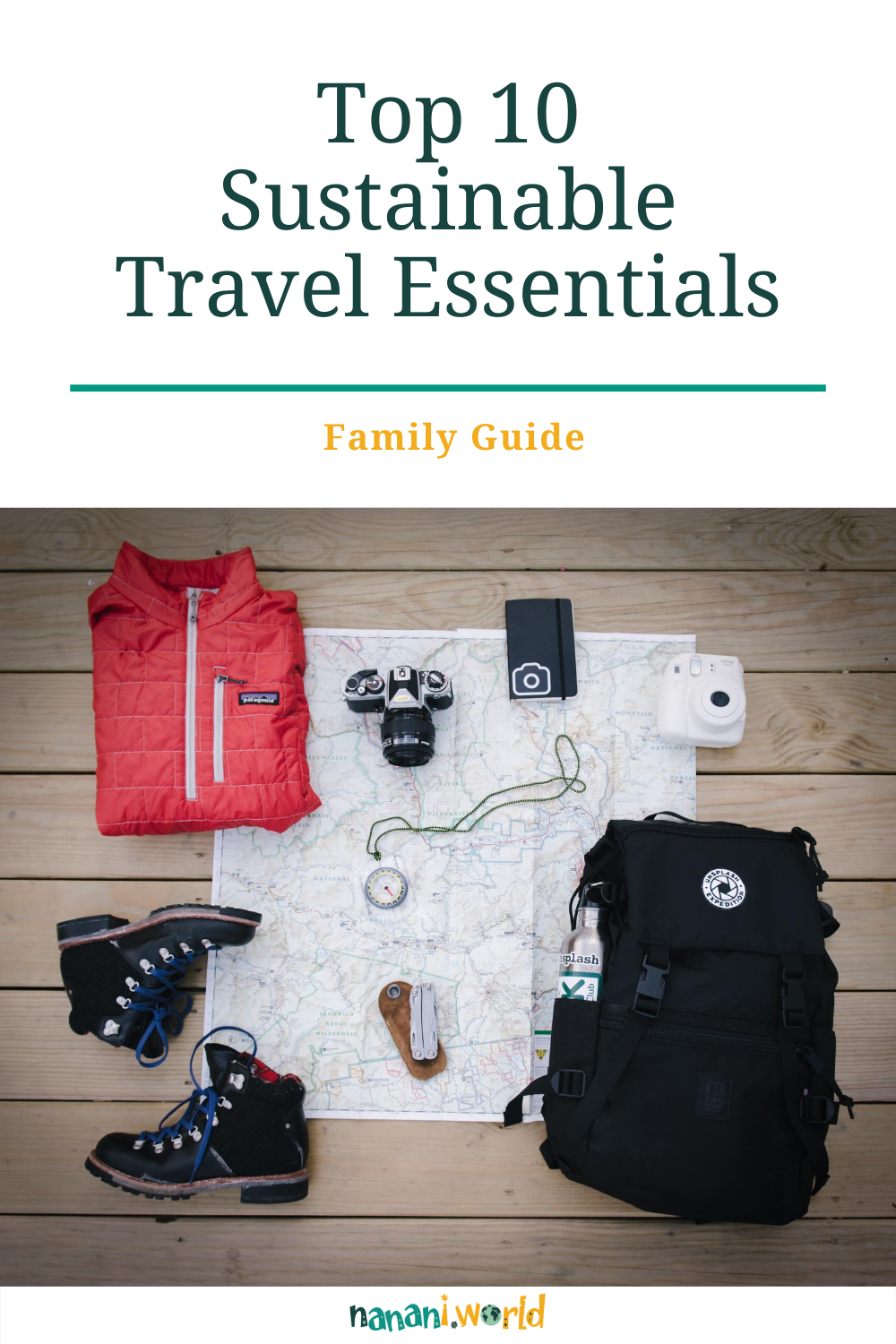Top 10 Sustainable Travel Essentials for Family