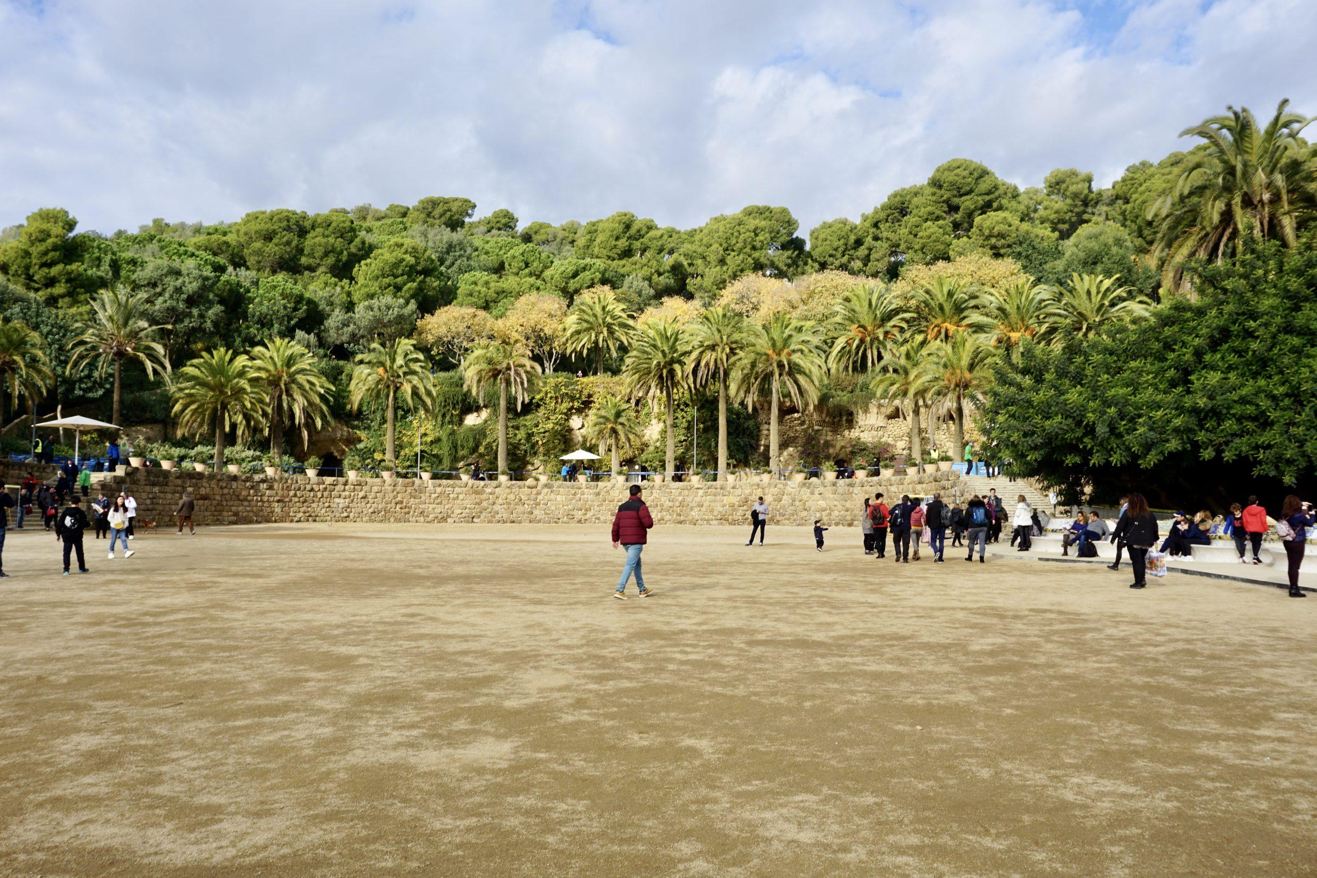 Park Güell in Barcelona UNESCO World Heritage Site