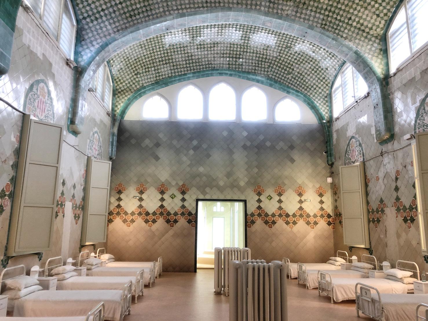 Hospital de Sant Pau Barcelona UNESCO World Heritage Site