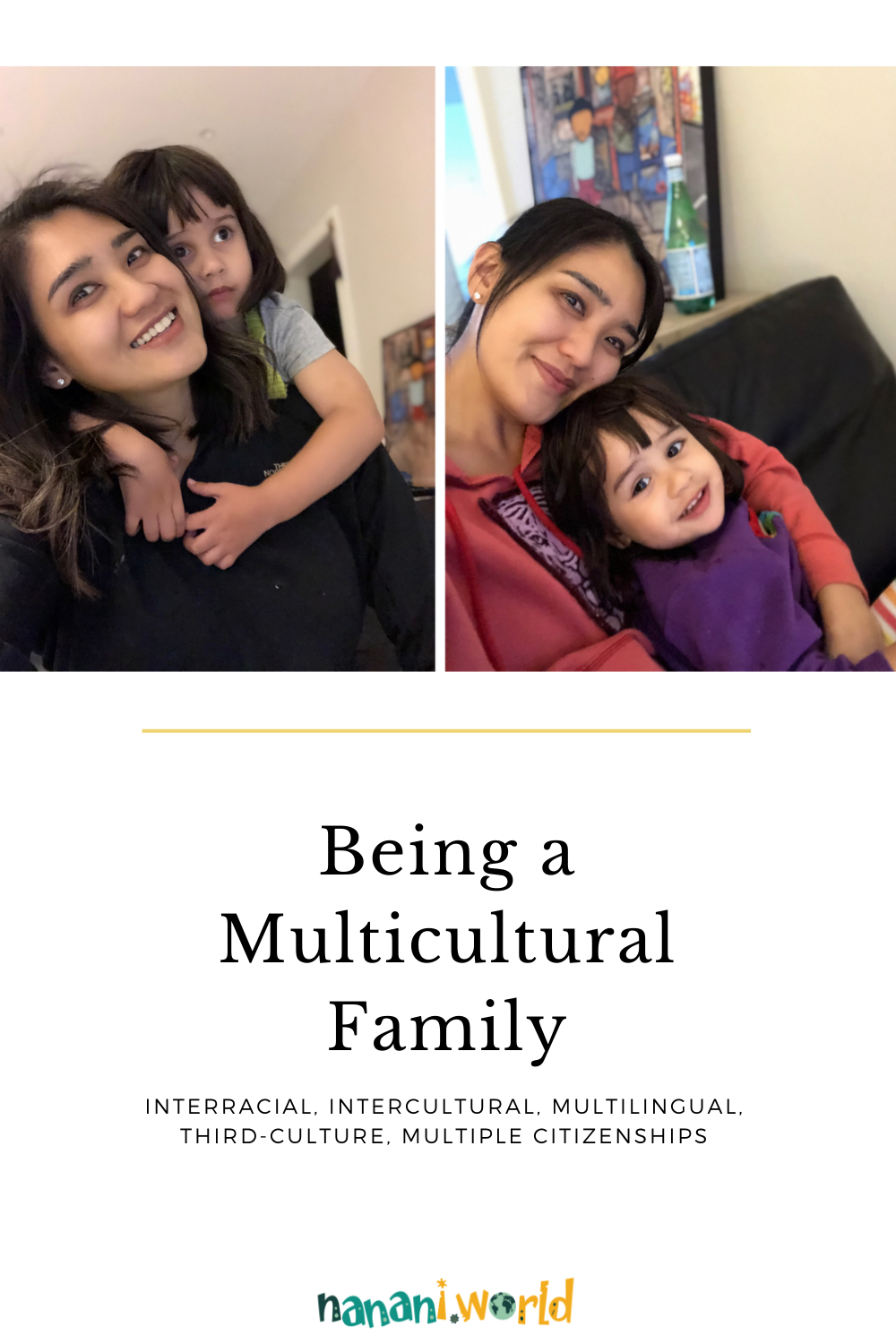 Being a multicultural family