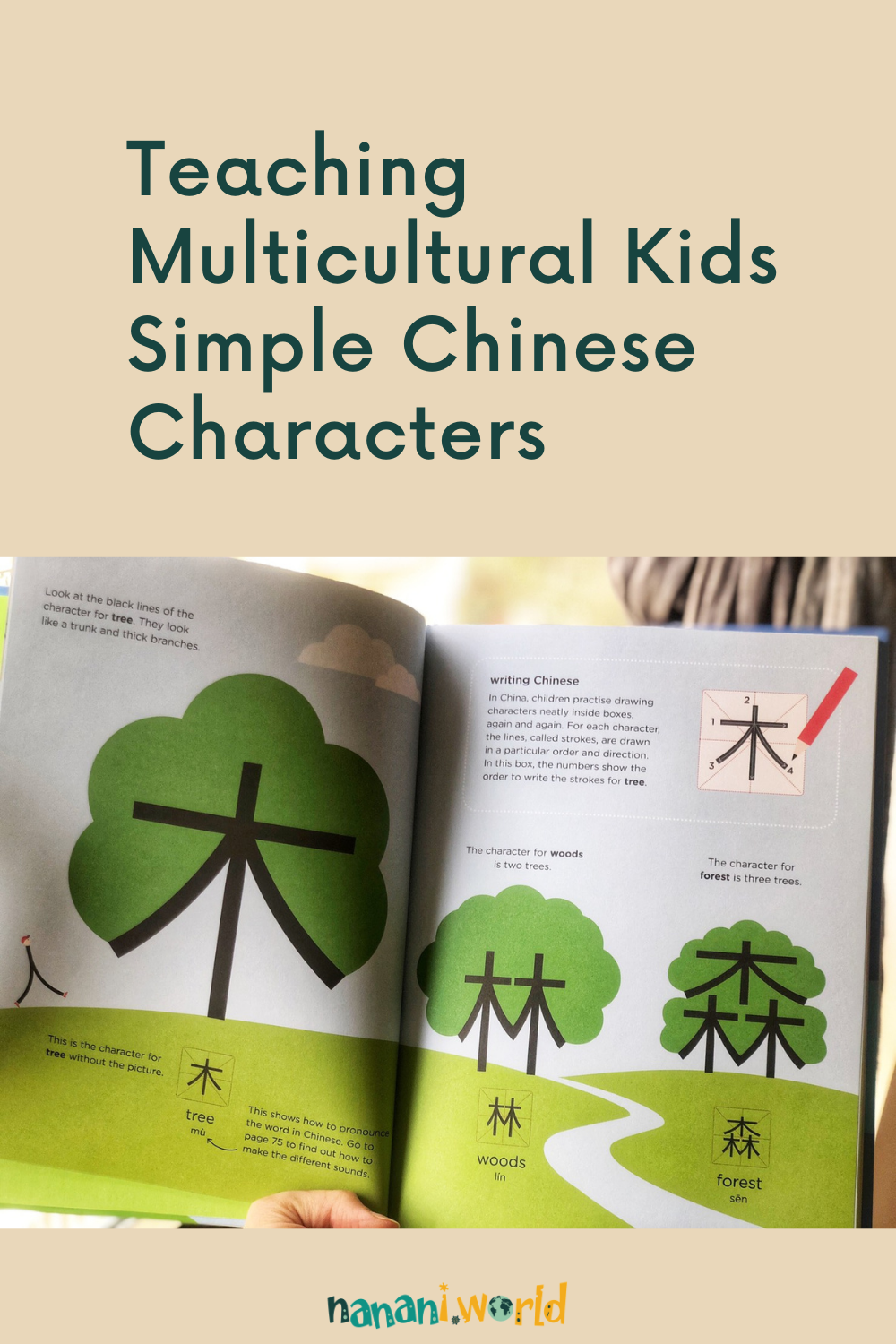 Teaching Multilingual Kids Simple Chinese Characters